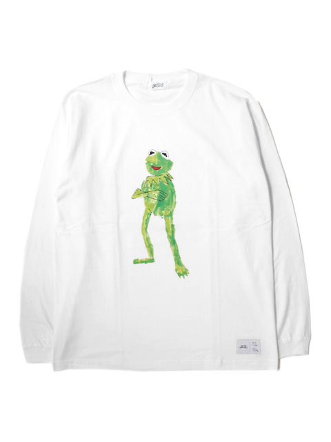 CULT CLUB FROG LONG SLEEVE TEE by YUNG LENOX