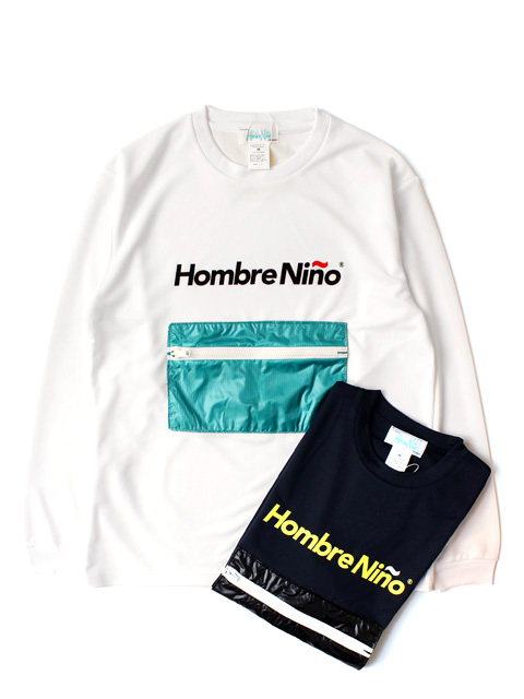 Hombre Nino ×CORONA ZIPPER POCKET PACKABLE TEE