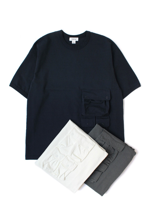 【20%OFF】tone MULTI POCKET T SHIRT