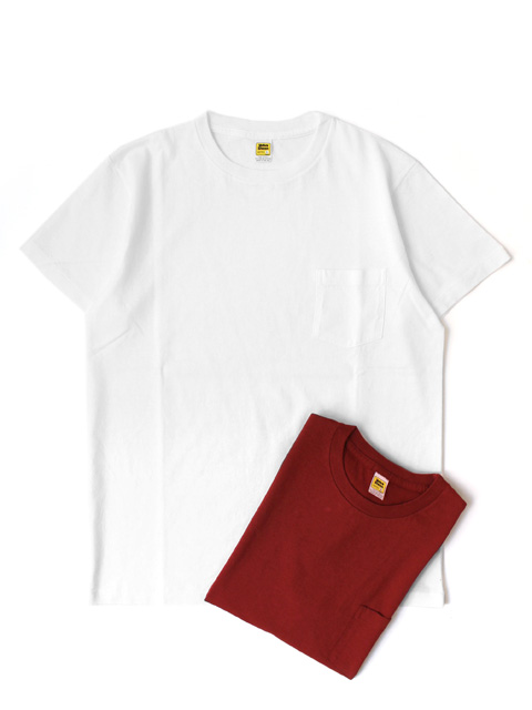 【20%OFF】M.V.P. x VELVA SHEEN POCKET TEE