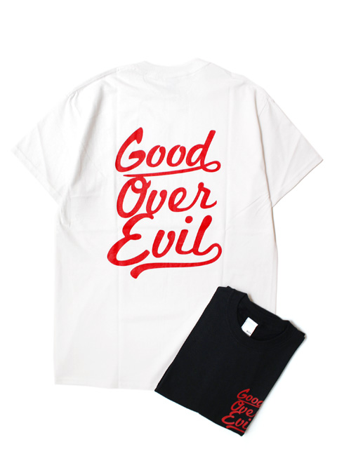 【20%OFF】M.V.P. GOOD OVER EVIL S/S TEE