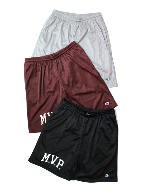 【20%OFF】M.V.P. COLLEGE LOGO MESH SHORTS
