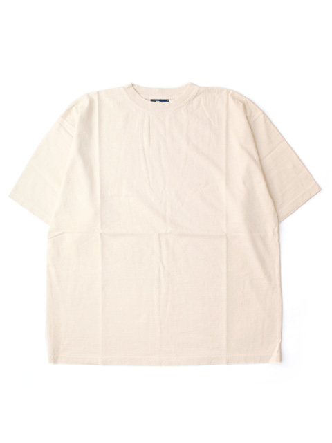 COLUMBIA KNIT Short Sleeve Crew  -NATURAL-