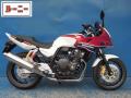 レンタルバイク ホンダ CB400SB サイド