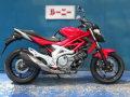 レンタルバイク グラディウス400 サイド