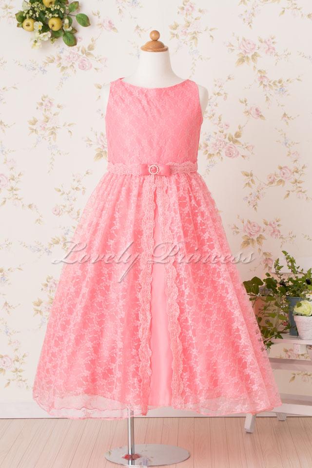 子供ドレス オリビア コーラル