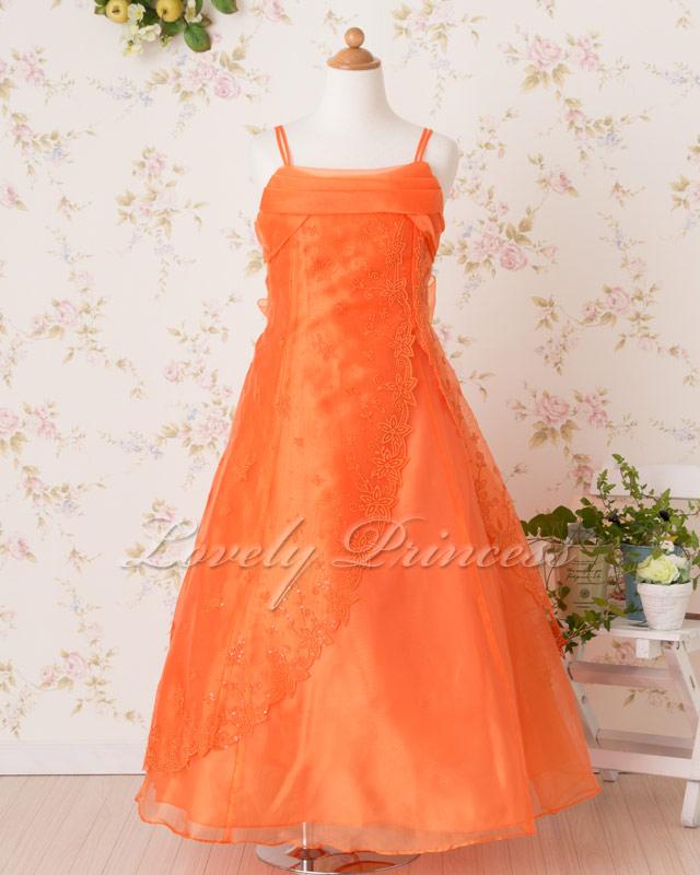 子ども用ドレス イブ(typeB) オレンジ