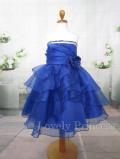 子供用ドレス メアリー ロイヤルブルー