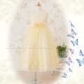 子供ドレス ヴァイオレット イエロー
