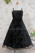 子供ドレス アデリーヌ ブラック
