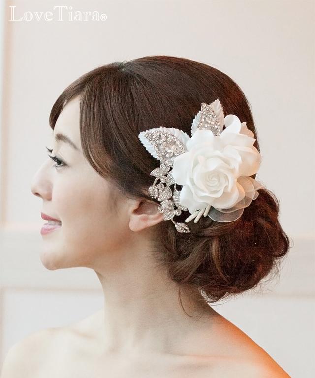 商品画像 ヘッドドレス ウエディング ブライダル 結婚式