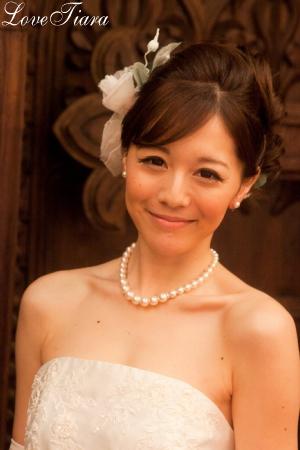 ヘッドドレス 花冠 ウェディング ブライダル 結婚式
