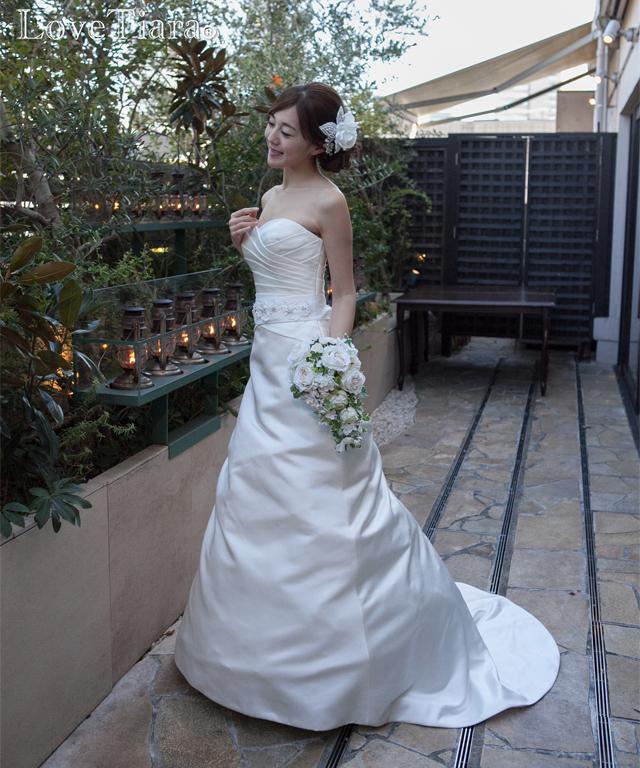 着用画像 ヘッドドレス ウエディング ブライダル 結婚式