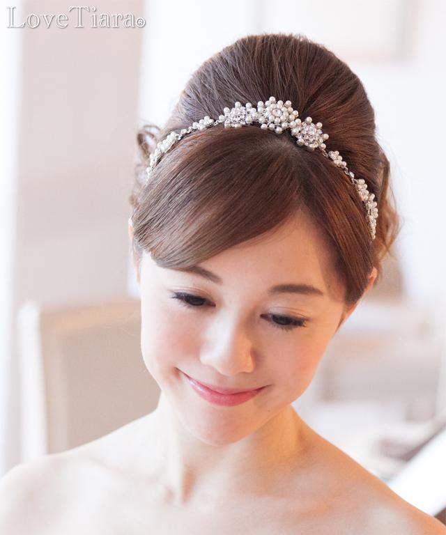 カチューム カチューシャ ウェディング ブライダル 結婚式