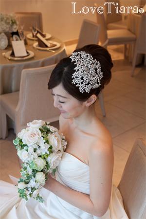 カチューシャ ウエディング ブライダル 結婚式
