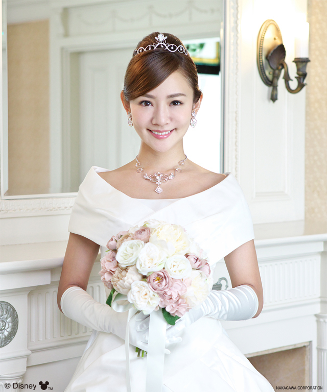 ディズニー ミッキーマウス ティアラ ウエディング 結婚式 プロポーズ