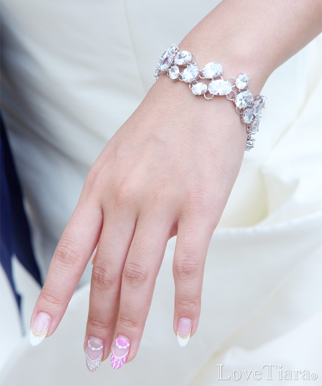 商品画像 ブレスレット ビジュー ウェディング 結婚式