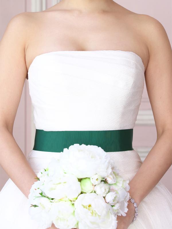 サッシュベルト ウエディング ブライダル 結婚式