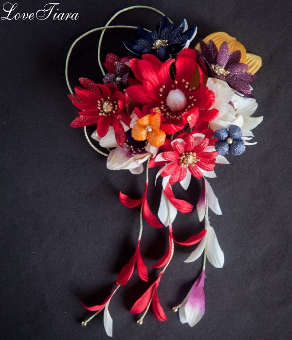 和の髪飾り ウエディング ブライダル 結婚式