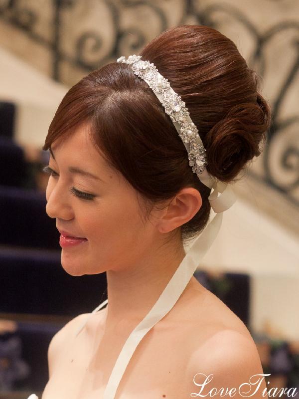 カチューシャ ウェディング ブライダル 結婚式