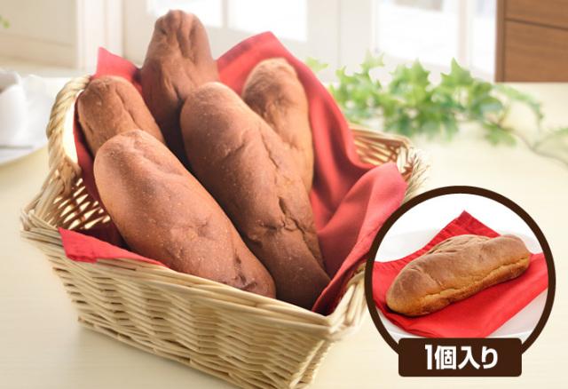 ドクター荒木オリジナル 小麦ふすまパン シリーズ 【断糖ロールパン】甘味(1個入り) クール便(冷凍)