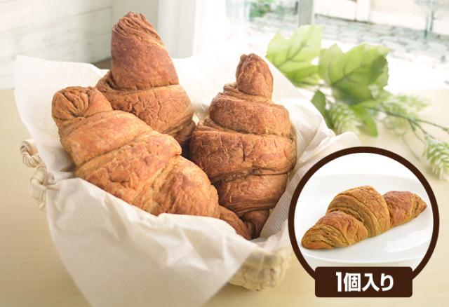 ドクター荒木オリジナル 小麦ふすまパン シリーズ 【断糖クロワッサン】(1個入り) クール便(冷凍)