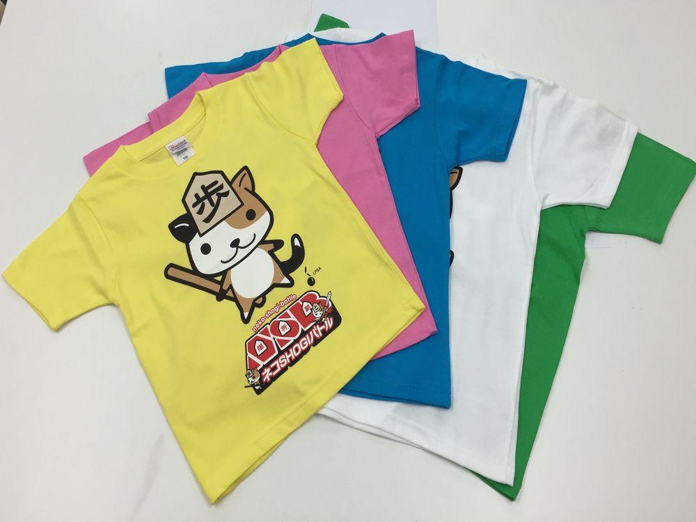 ネコSHOGIバトルTシャツ