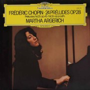 アルゲリッチのショパン/24の前奏曲ほか 独DGG 2828 LP レコード
