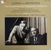ヘルシャー&デームスのベートーヴェン/チェロソナタ全集 独MPS 2849 LP レコード