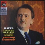 フランソワのラヴェル/ピアノ作品集  仏EMI(VSM)  2633 LP レコード