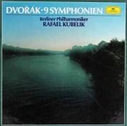 クーベリックのドヴォルザーク/交響曲全集 独DGG 2912 LP レコード