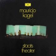 カーゲルの「国立劇場」 独DGG 2717 LP レコード(日本未発売)