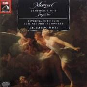 ムーティのモーツァルト/交響曲第41番「ジュピター」ほか   独EMI   2539 LP レコード
