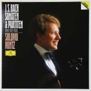ミンツのバッハ/無伴奏ヴァイオリンソナタとパルティータ 独DGG 2728 LP レコード