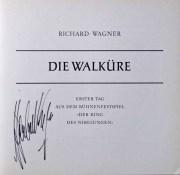 【カラヤンの直筆サイン入り】カラヤンのワーグナー/「ニーベルングの指輪」(全曲) 独DGG オリジナル盤 LP レコード