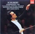 ムーティのシューベルト/交響曲第1&8番「未完成」 独EMI 2825 LP レコード
