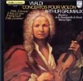 グリュミオー&ネグリのヴィヴァルディ/ヴァイオリン協奏曲集 仏PHILIPS 2821 LP レコード
