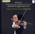 グリュミオー&デイヴィスのモーツァルト/ヴァイオリン協奏曲第1&4番 仏PHILIPS 2821 LP レコード