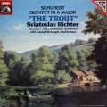 リヒテル&ボロディン四重奏団のシューベルト/「ます」 独EMI 2827 LP レコード