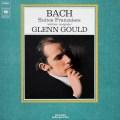 グールドのバッハ/フランス組曲 英CBS 2821 LP レコード