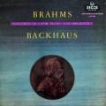 バックハウス&シューリヒトのブラームス/ピアノ協奏曲第2番 英DECCA 2827 LP レコード