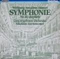 アーノンクールのモーツァルト/交響曲第41番「ジュピター」 独TELEFUNKEN 2821 LP レコード