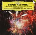 マゼールのニューイヤー・コンサート1982 独DGG 2752 LP レコード