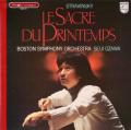 小澤のストラヴィンスキー/「春の祭典」 仏PHILIPS 2754 LP レコード