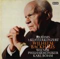 バックハウス&ベームのブラームス/ピアノ協奏曲第2番 独DECCA 2803 LP レコード