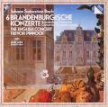 ピノックのバッハ/ブランデンブルグ協奏曲全曲 独ARCHIV 2806 LP レコード
