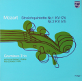 グリュミオー・トリオらのモーツァルト/弦楽五重奏曲第1&2番  蘭PHILIPS 2808 LP レコード