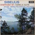 マゼールのシベリウス/交響曲第1番ほか 英DECCA 2805 LP レコード