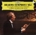 ジュリーニのブラームス/交響曲第1番 独DGG 2807 LP レコード