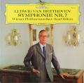 【直筆サイン入り】ベームのベートーヴェン/交響曲第7番 独DGG 2807 LP レコード
